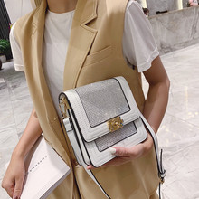 Retro Fashion Female Square Bag 2019 New High quality rivet PU leather Women's Designer Handbag Chain Shoulder Messenger bags недорого
