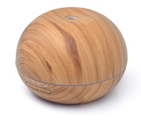 Wholesale Price 400ml Aroma Essential Oil Diffuser Ultrasonic Air Humidifier With Wood Grain 7Color Changing LED