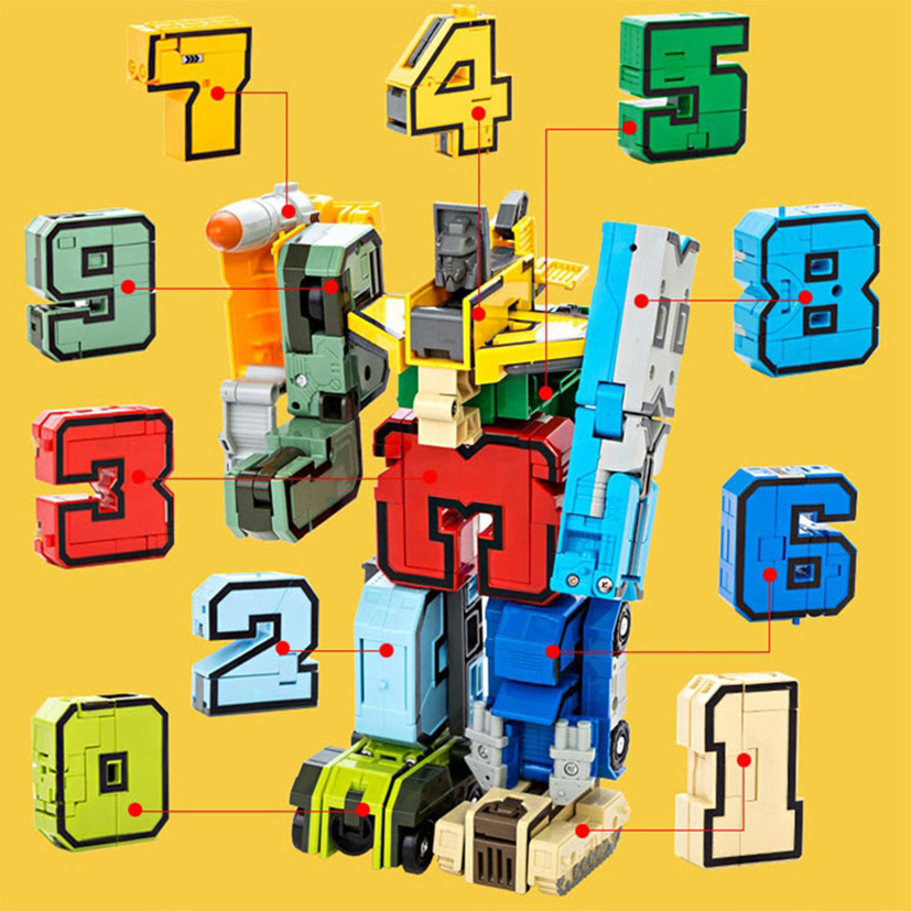 15pcs Building BlocksTransformation Robot 2