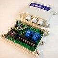 GSM-AUTO-AC GSM SMS Controlador Remoto de 2 Relés IP65 al aire libre Interruptor de puerta de control de acceso de puerta AC100v-240v