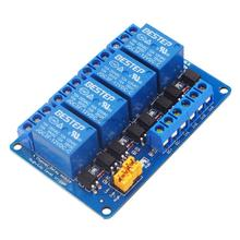 12V 4 Channel Relay Module High and Low Level Trigger with O