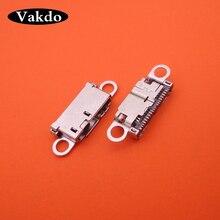 20 ピース/ロット 21 ピンプラグドックジャックソケットコネクタマイクロミニ USB 充電ポートの修理部品三星銀河 (注) 3 N9000 N9005