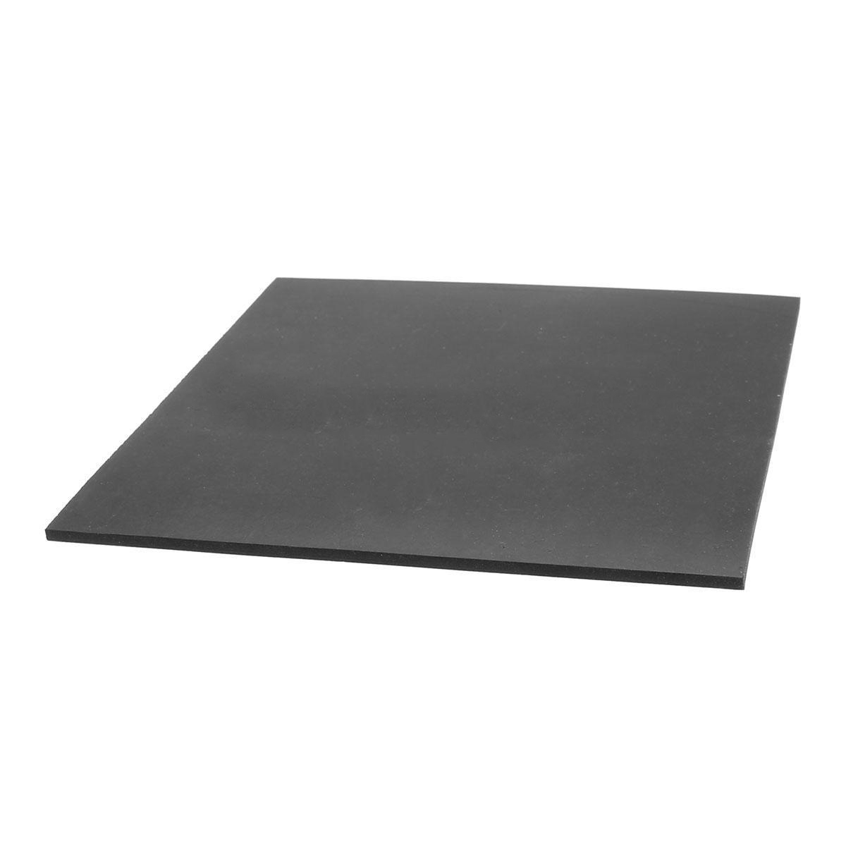 1pc Black Square Rubber Sheet Chemical Resistance High Temperature Rubber Plate 152*152*3mm best