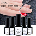 Tape Latex Palisade For Easy Clean Base Gel Coat Care Manicure Nail Polish Glue White Peel Off Liquid Nail Art DIY Beauty Tools