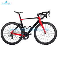 2016 أحدث 4 ألوان soabto 700c الطريق دراجة ألياف الكربون كاملة دراجة الإطار مع شوكة الكربون seatpost مقعد المشبك سماعات