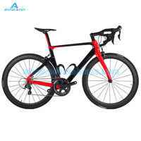 2016 Newest 4 Colors SOABTO 700C Road Bicycle Full Carbon Fibre Bike Frame With Carbon Fork