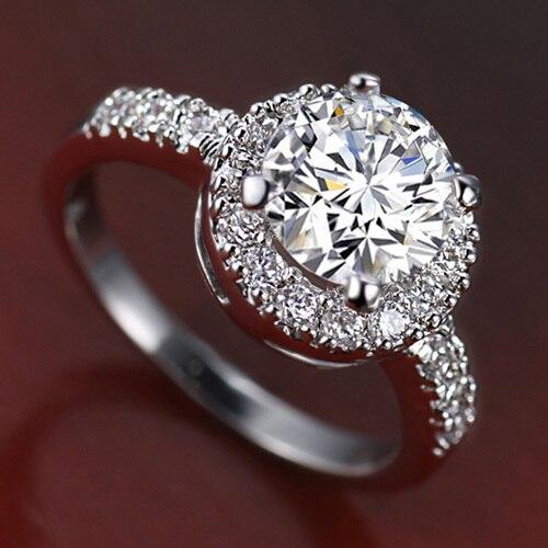 Ring Luxurious Eternal 2k Sona Classic Boring Wedding Engagment