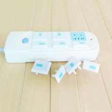 10pcs plug socket cover Baby Safety Guard Socket child security Outlet Against Electric Shock Insulating Protective