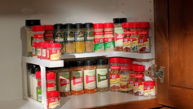 Edenware Spice Rack And Stackable Shelf Delectable NEW Spicy Shelf Patented Spice Rack And Stackable Organizer