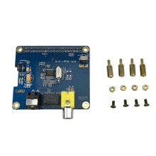 Raspberry Pi 3 Model B Digital Audio Expansion Board Output Audio Out I2S SPDIF For Raspberry Pi 2 Model B Free Shipping
