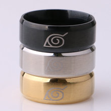 Naruto Ring Stainless Steel Rings