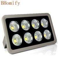 1pcs LED Floodlight COB 200W 300W 400W 500W Reflector Flood Light Spotlight AC 85 265V Waterproof Outdoor Wall Lamp Projectors