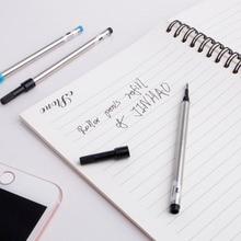 купить Jinhao Roller Ball Rollerball Pen Refill Cartridge Blue Black Ink 0.5mm 0.7mm по цене 28.61 рублей