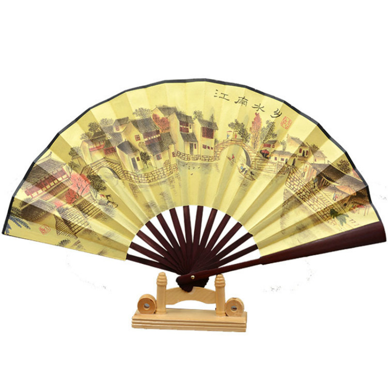 Paintings and Calligraphy Decoration Fan