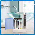 Nueva seago sonic cepillo de dientes eléctrico recargable inteligente cepillo de dientes uv esterilizador 4 pcs cabezas de cepillo lavable sg-908