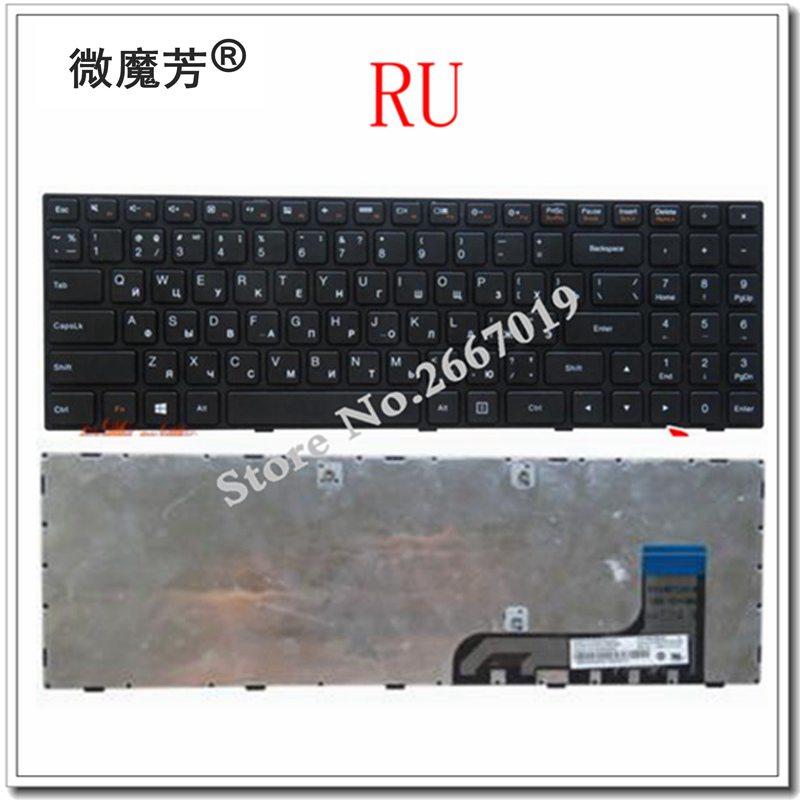 Russisch voor LENOVO 100-15 100-15IBY 100-15IB B50-10 PK131ER1A05 5N20h52634 9z.NCLSN.00R NANO NSK-BR0SN RU laptop toetsenbord