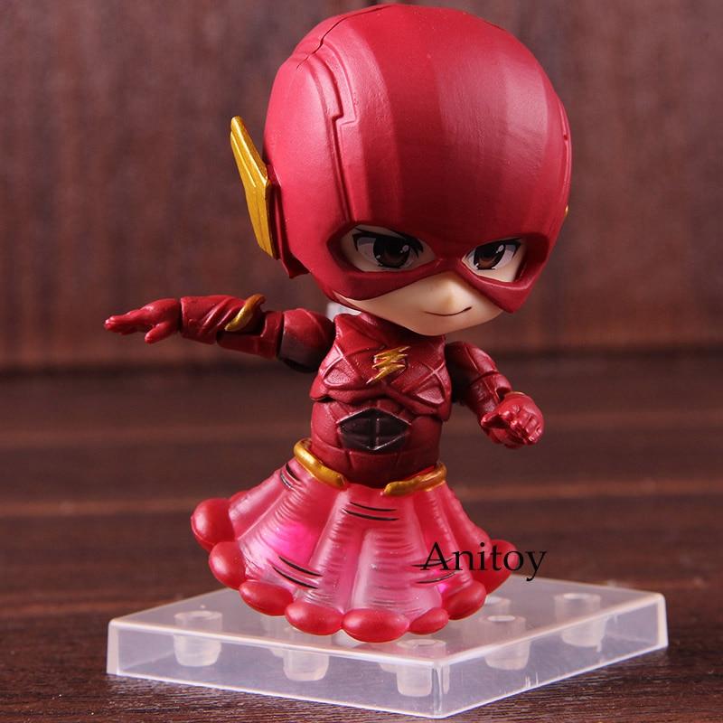 DC Justice League Nendoroid 917 The Flash PVC Action Figure Toy No Box
