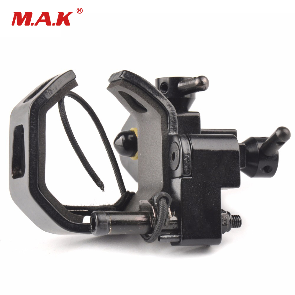 Archery Drop Away Arrow Rest Full Containment High Speed Mute Arrow Rest Compound Bow Accessory For Recurve Bow Hunting