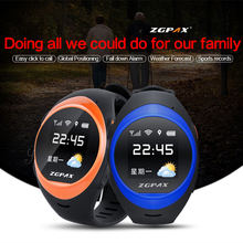ZGPAX Smart Watch With SOS GPS Smartwatch S888 WIFI Anti Failing Alarm Tracker For Man Woman elder Kid Gift High Quality pk PG88(China)