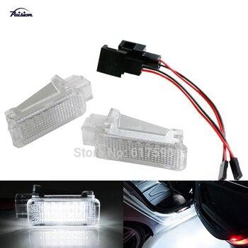 2 sztuk bez błędu LED dzięki uprzejmości schowek na rękawiczki oświetlenie drzwi dla PORSCHE CAYENNE 987 997 GT3