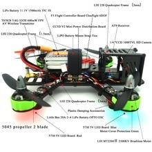 RC RTF  QAV ZMR 220mm Quadcopter withf AT9 radiolink 2.4G plus HD Camera