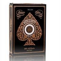 Матовый Водонепроницаемый ПВХ покера, игральные карты Высокое качество Прочный Магия Liquor & Poker