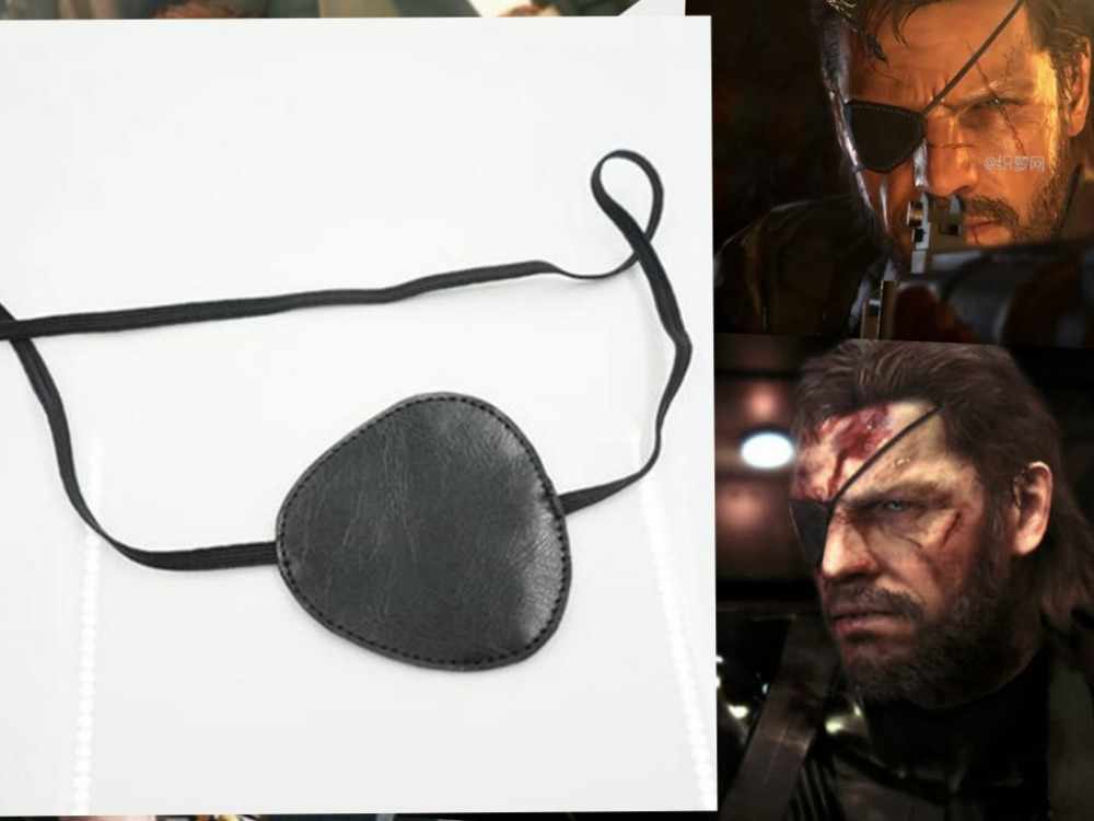 Metal Gear Solid v / Metal Gear cosplay cache-oeil Serpent solide / Venom Snake / Jack CS69