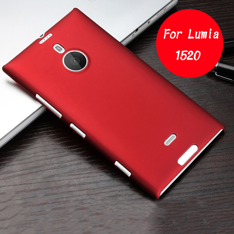 low priced 7f404 e27a9 US $1.89 5% OFF|For Nokia Lumia 1520 Case Ultrathin Plastic Frosted Shield  Case For Microsoft Lumia 1520 Matte Hard Back Cover For Lumia 1520-in ...
