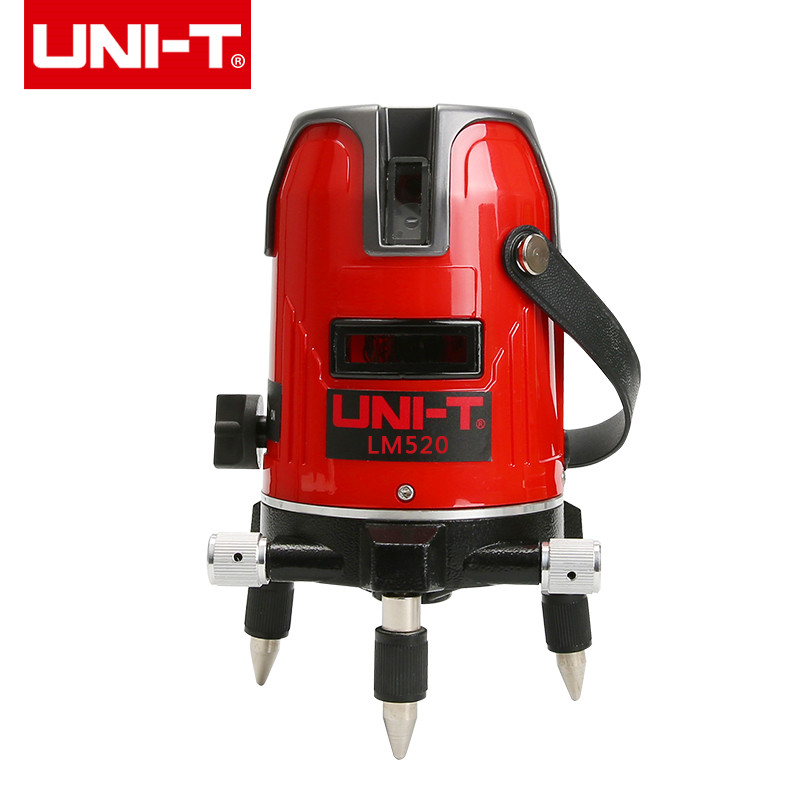UNI-T LM520 LM530 LM550 touch red laser level instrument 2/3/5 line cross marking instrument 360 Degree Self Nivel Laser цена