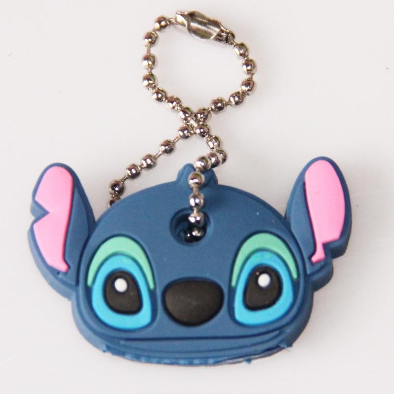 Car Styling Alta calidad Kawaii Cartoon Animal Silicone Key Caps - Nuevos juguetes y juegos - foto 4