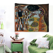 IBANO Mandala Polyester Tapestry Wall Hanging Tapestries Christmas Wedding Decoration Table Cloth 197*147cm/147*127cm