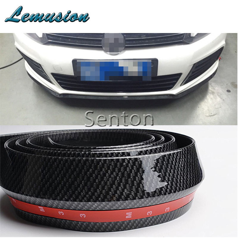 Car styling Car Carbon Fiber Front lip 2 5M Styling For Lexus RX NX GS CT200H