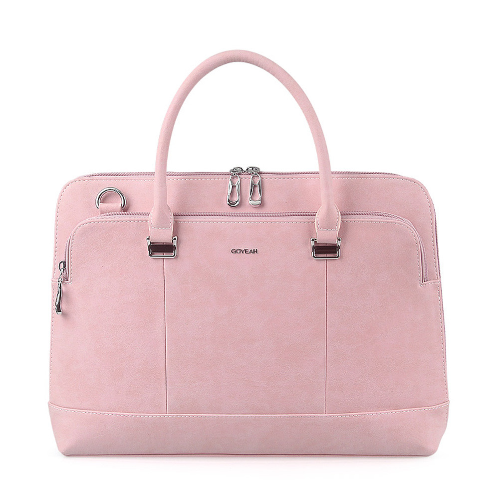 Matte Imitate Leather 13.3 inch Laptop Business Briefcase OL Lady Shoulder Bag Men Notebook Handbag for Macbook Air Pro lowepro protactic 450 aw backpack rain professional slr for two cameras bag shoulder camera bag dslr 15 inch laptop