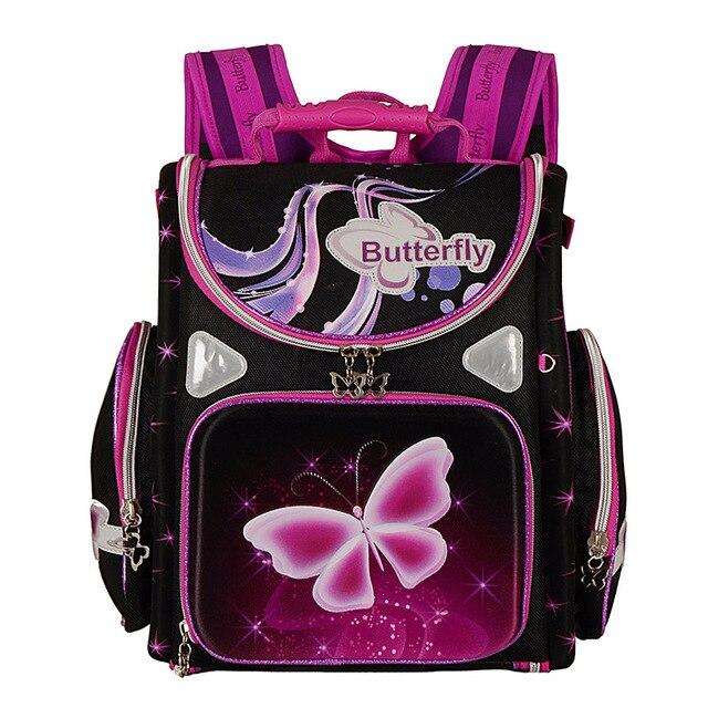 Orthopedic Breathable Children School Bag For Girls Butterfly School  Backpacks Child Cartoon Spiderman Boy Backpack Kids 5dfdd2d493