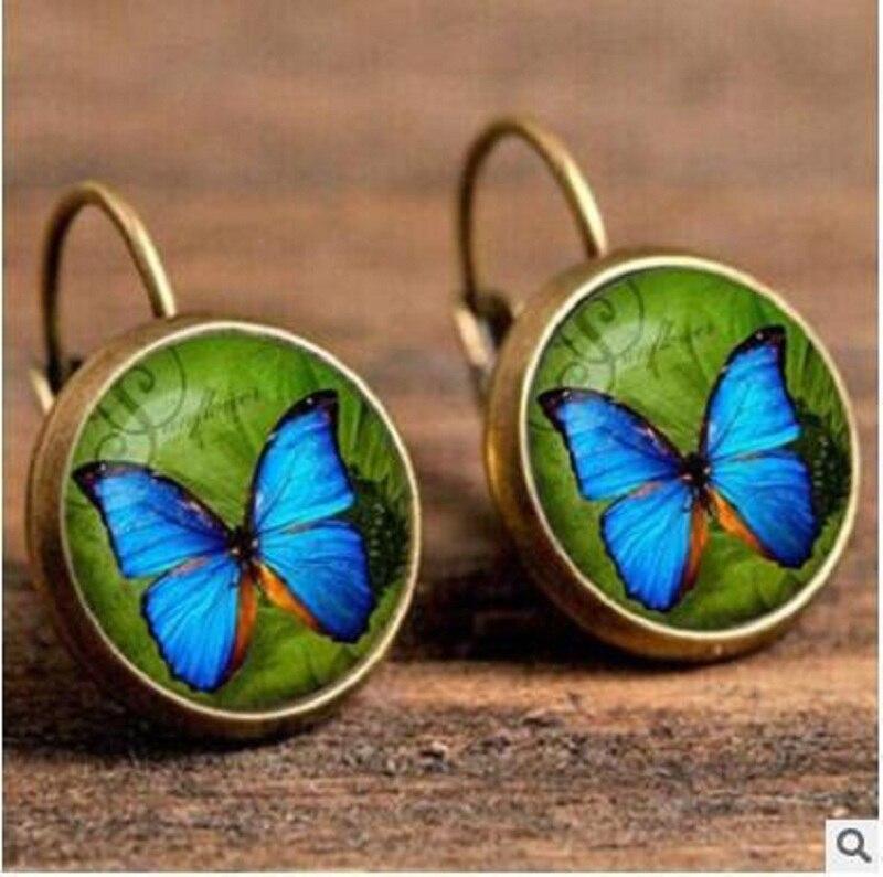 Exknl Boho Flower Drop Earrings For Women Vintage Jewelry Geometric Pattern Round Earings Bijoux boucles d'oreilles bohemia 10