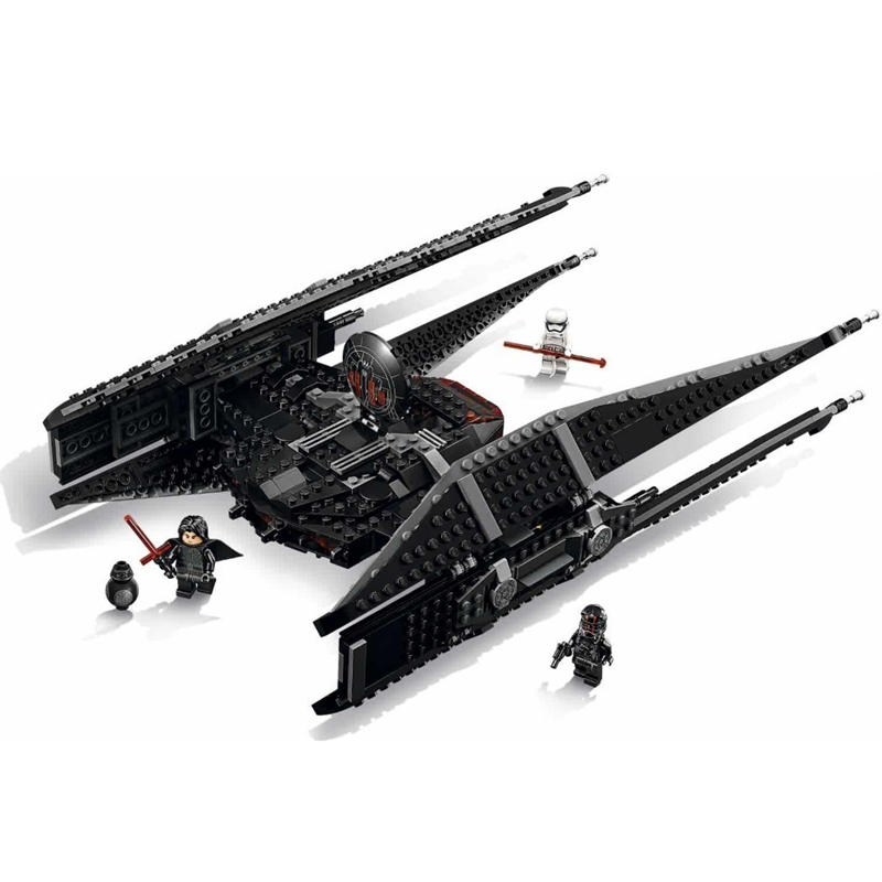 Star Wars Kylo Ren's TIE Fighter STARWARS Building Blocks Sets Bricks Classic Model Toys Compatible Legoings 75179 Technic lepin star wars millennium falcon special forces fighter starwars building blocks sets bricks classic model compatible legoings