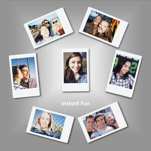 Image 5 - 후지 필름 인스 팩스 미니 필름 화이트 10 20 40 60 80 100 시트 후지 인스턴트 포토 카메라 미니 9 미니 11 8 7s 70 + 무료 스티커