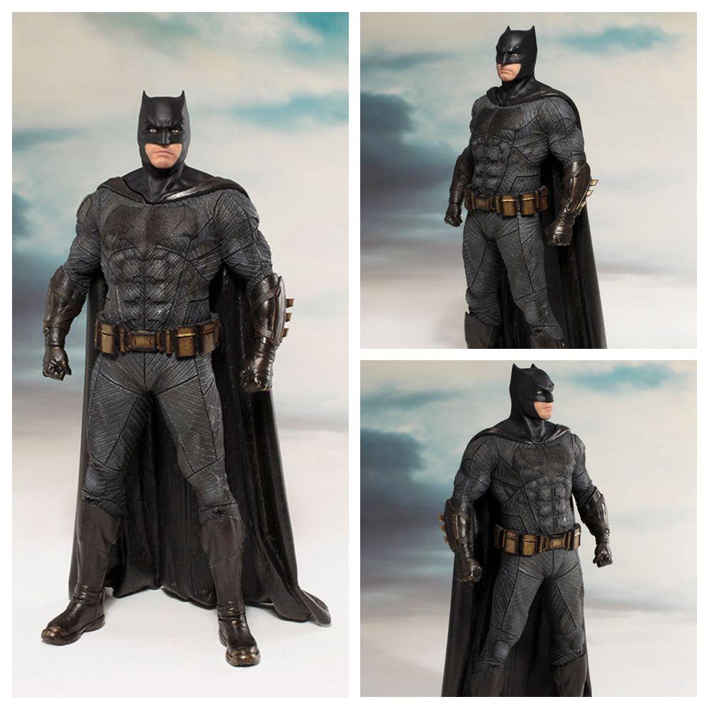 Figurals Collection Artfx-Statue Batman Action-Figure-Toy Justice League DC Model Model-Brinquedos