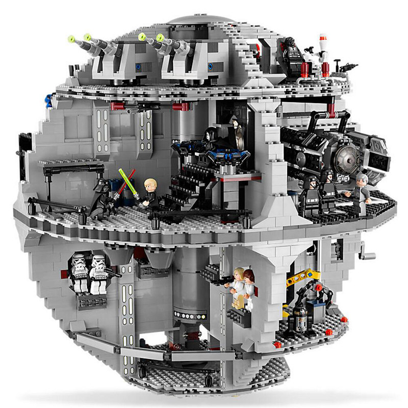 LEPIN 05035 Star Fighter Series Death Star 10188 Tarkin Doctrine Building Blocks 3081pcs Bricks Toys Gift For Children clone 10188 dhl lepin 05035 3803pcs star model death star model building kit set blocks bricks children toy gift