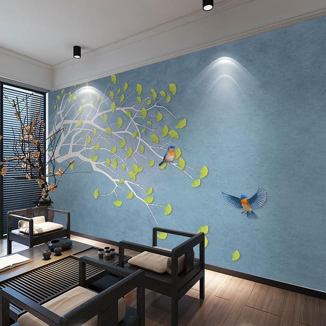Personnalisé Papier Peint Photo 3D Peinture Murale Moderne Simple ...