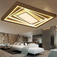 Led寝室長方形ルービックキューブ人格ロマンチックで暖かいリモコン天井ランプLO8172