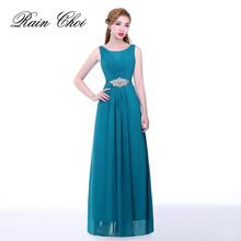 Elegant Robe De Soiree Long Sleeveless Formal Evening Dress Gowns Special Occasion Party Dresses