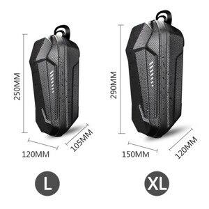 Image 5 - سكوتر كهربائي الجبهة حقيبة تخزين قابلة للحمل كيس تعليق دائم إيفا ل شاحن سيارة أداة ل شياو mi mi jia M365 ES ES1/ES2