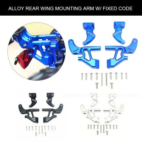 1 Set Alloy Rear Wing Arm W/ Fixed Code for TRAXXAS E REVO 2.0 86086 4 RC Car