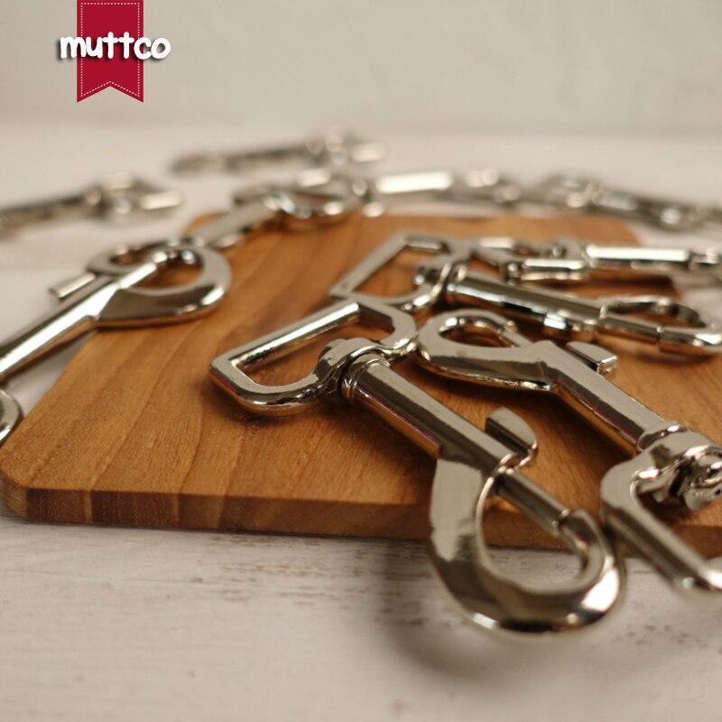 20pcs/lot DIY Dog Leash Silver 2.5 Metal Metal Clasps Dog Clasp Metal Hook Hardware Dog Clip Hook Buckle PK-006