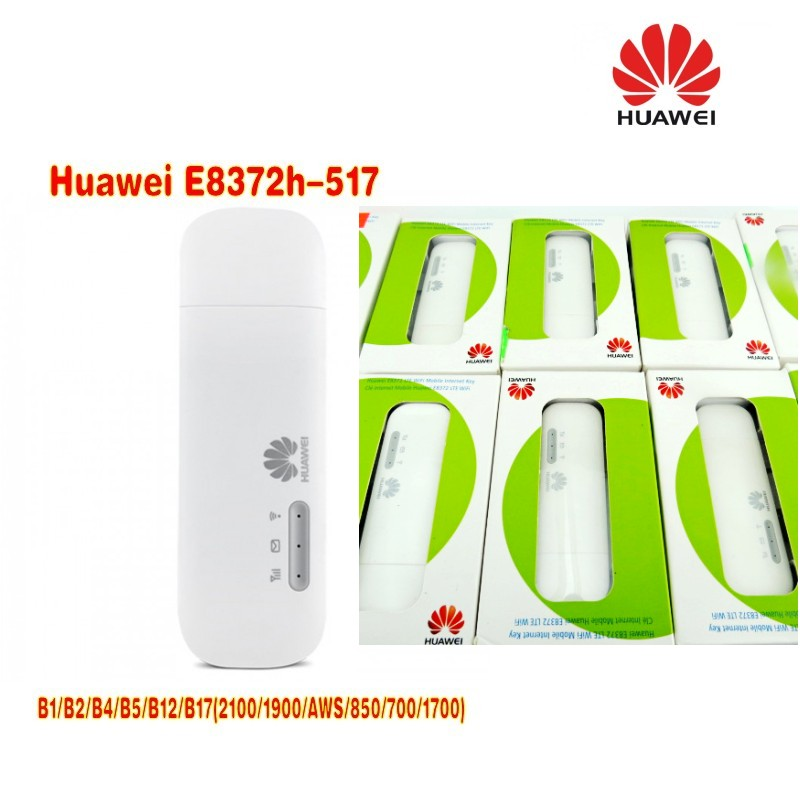 US $108 8 15% OFF Huawei E8372h 517 LTE FDD modem stick plus a 4g TS9 49dbi  antenna-in Network Cards from Computer & Office on Aliexpress com  