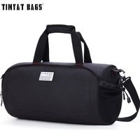 TINYAT Men Travel Bags High Capacity Travel Duffel Bags New Fashion Waterproof Travelling Bag Men Male