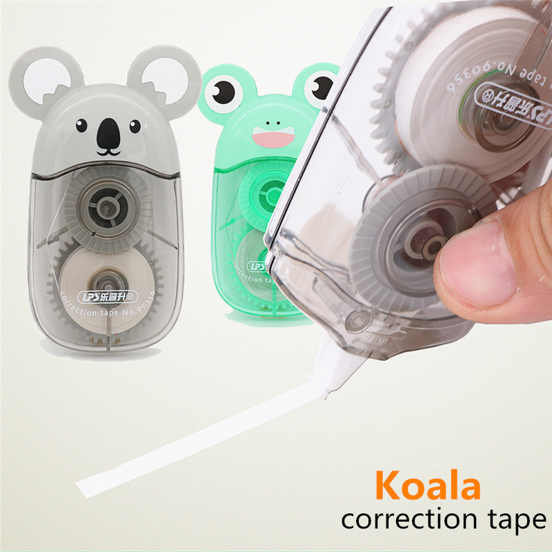 Cute Koala Correction Tape 5mm X 12m Lovely Animal Modeling Student Office Correction Supplies