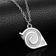 Naruto Luminous Glow in Dark Kakashi Leaf Village Symbol Cosplay Pendant
