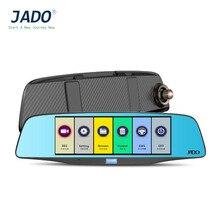 JADO D680S 6.86 дюймов Видеорегистраторы для автомобилей S ЖК-дисплей WDR FHD Двойной объектив Видеорегистраторы для автомобилей Камера 1080 P Cam 140 градусов объектив Авто детектор автомобиль Регистраторы